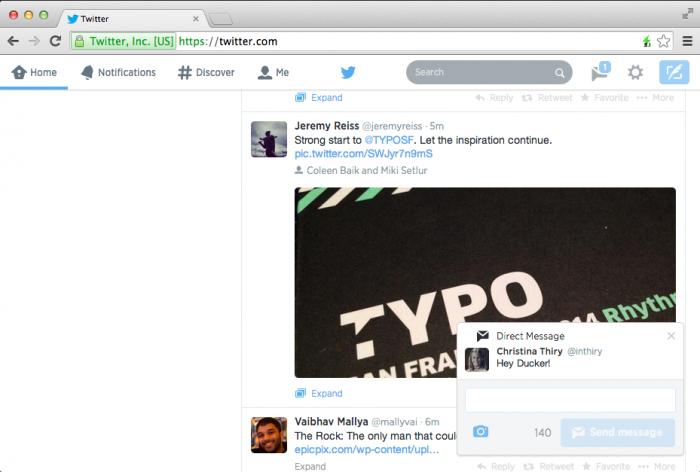 Twitter inserisce le notifiche interattive 2