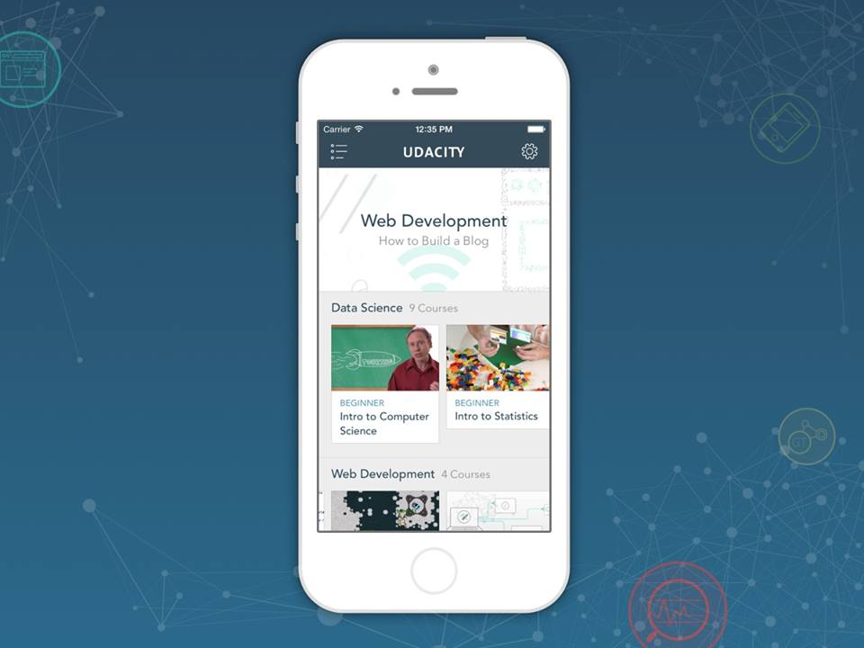 Online learning company Udacity expands its iOS app to support the