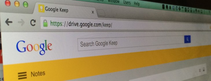 Google Keep updated with the ability to quickly search text in photos and a new look