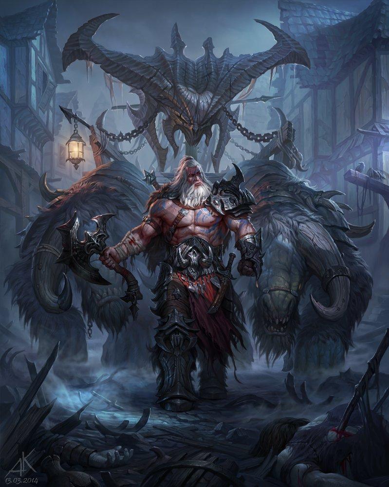 Fan Artists Conceptualize Diablo III's Angel Of Death For