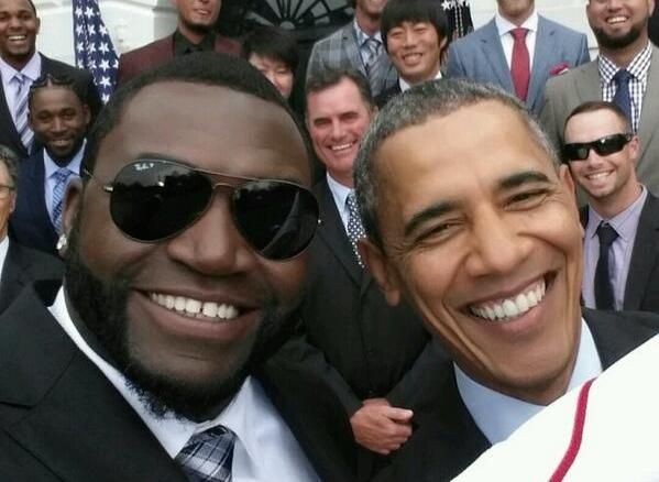 The White House objects to Samsung promotion of Obama selfie with baseball player David Ortiz