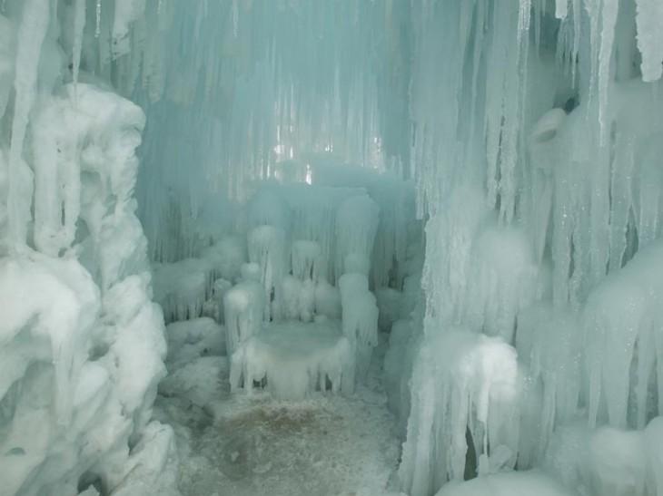 Ice castles of Silverthorne, Colorado   Arina P Habich