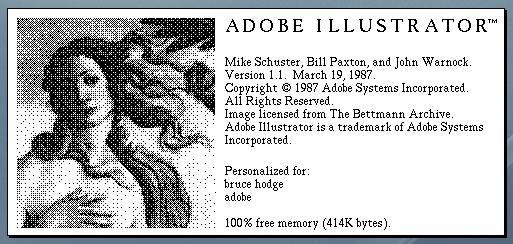 Illustrator 1.1