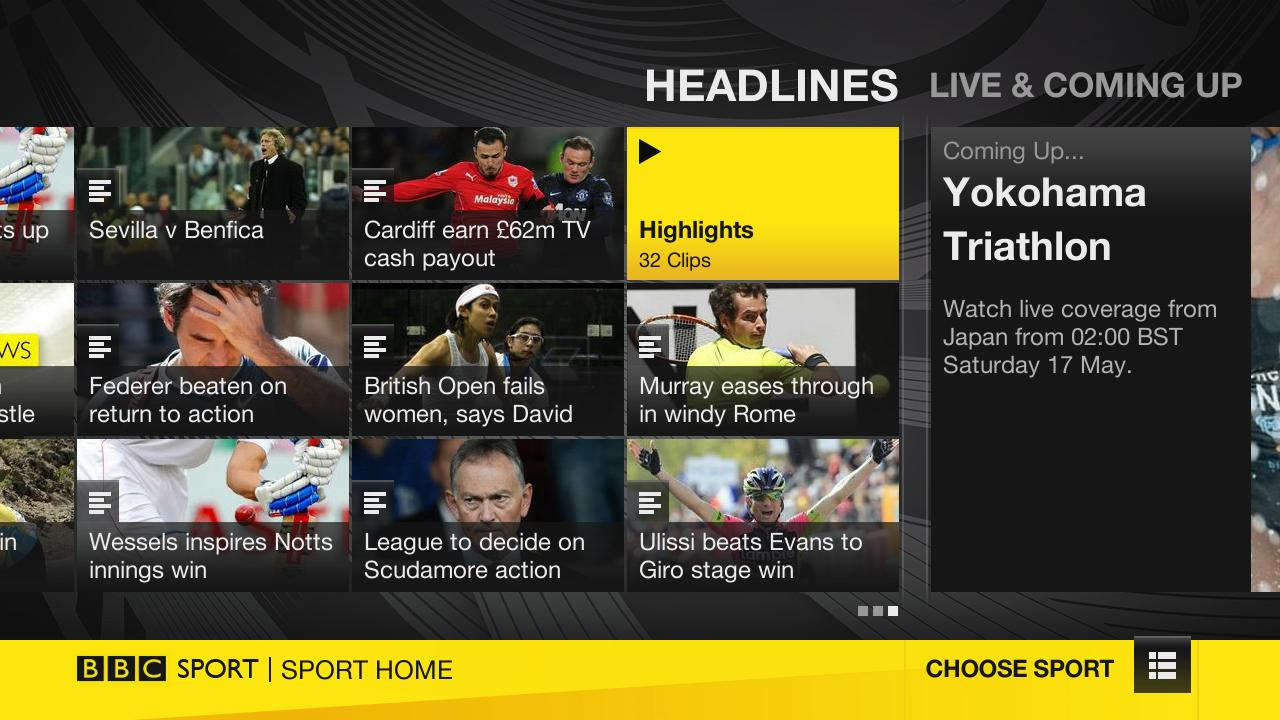 BBC Sport App Arrives On Roku Streaming Devices In The UK
