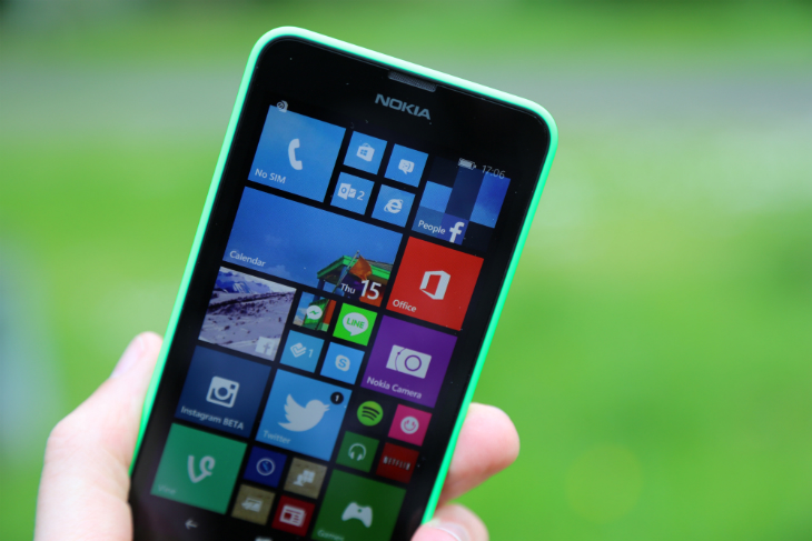 nokia lumia 630. if only the display dazzled like its industrial design. lumia 630 is aimed at lower end of market, so from outset worth contextualizing nokia