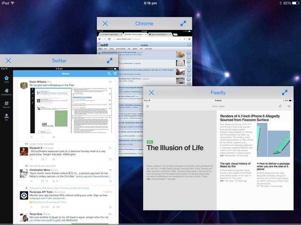 Amazing Jailbreak Tweak Brings True Multitasking Support To The iPad