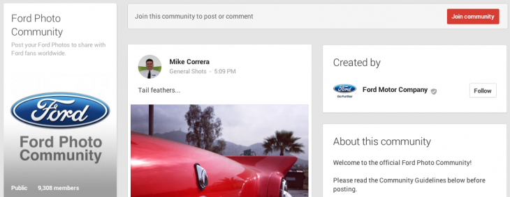 Ford-Photo-Community