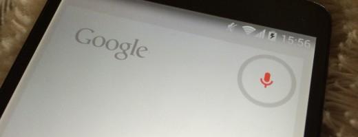 Google Now Voice control