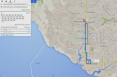 Google Transit_Manaus