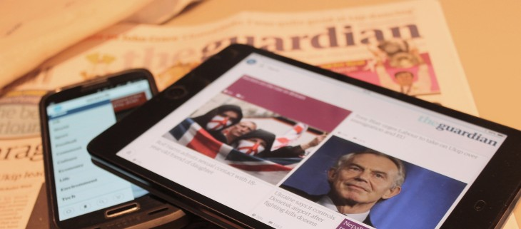 The Guardian gets personal with slick, redesigned adaptive mobile apps