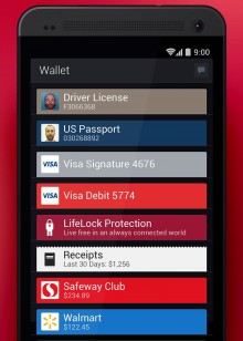LifeLock Wallet