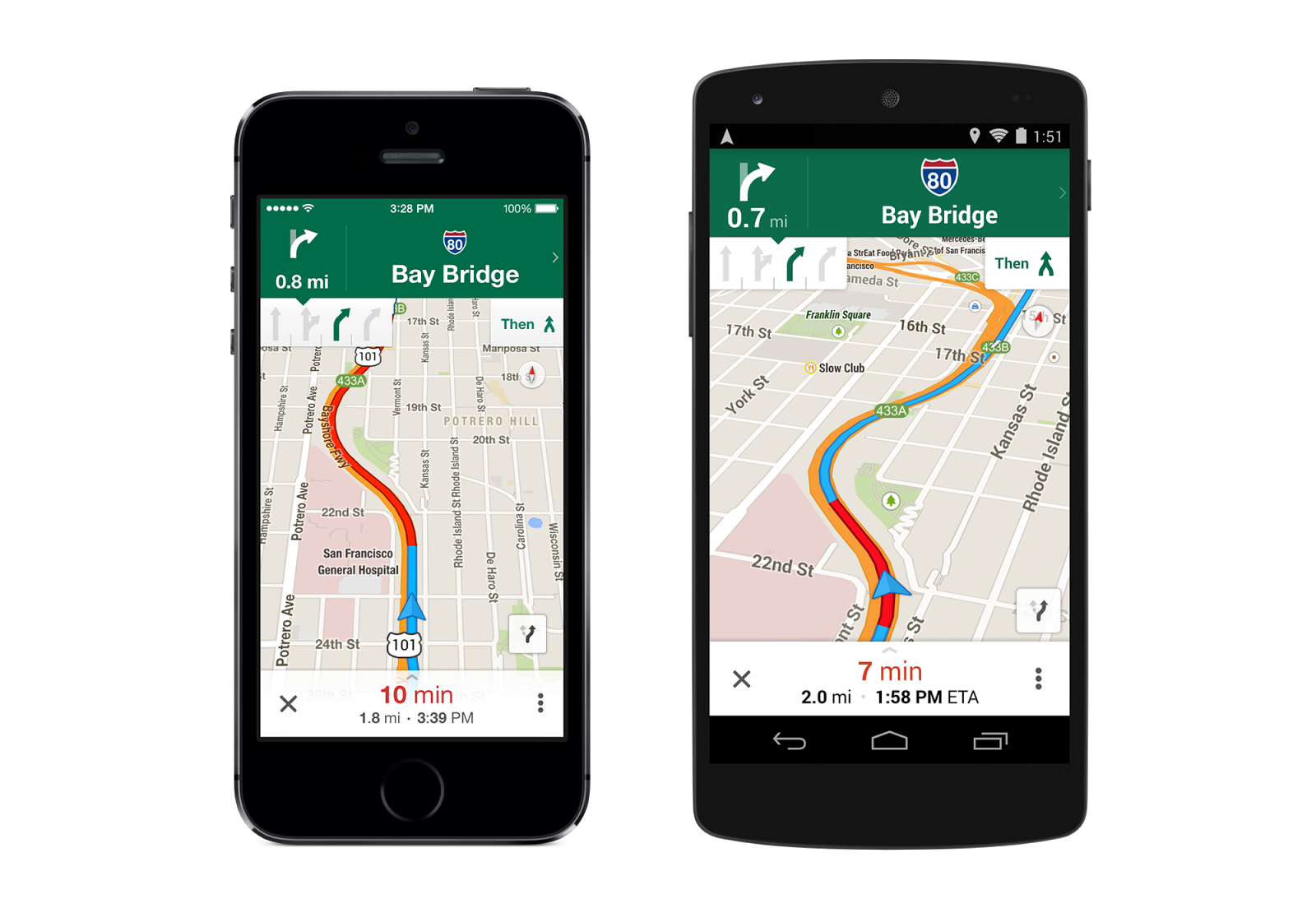 Google Maps For IOS And Android Gets Uber Transit Option - Nyc map app android