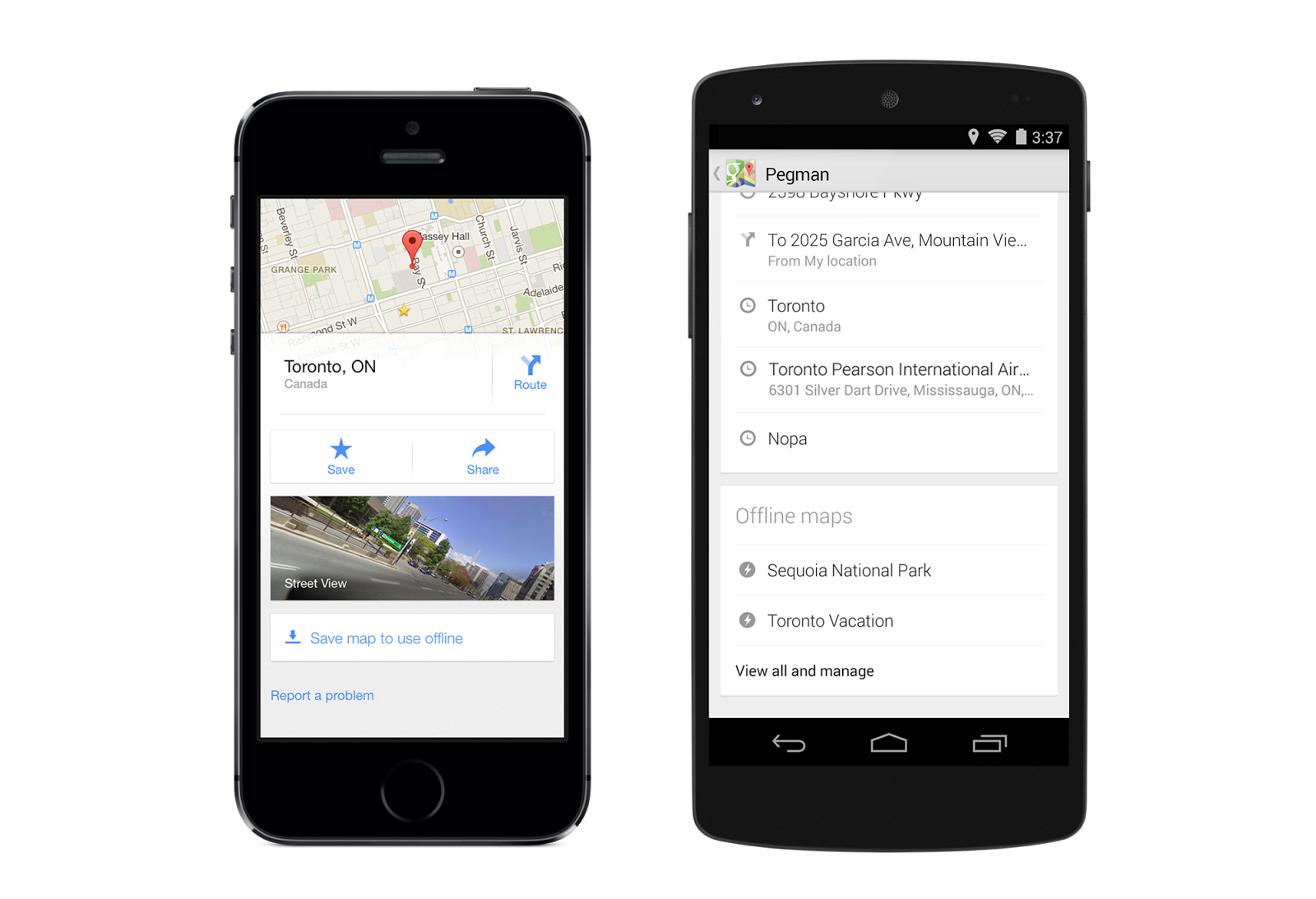 Google Maps for iOS and Android gets Uber Transit Option