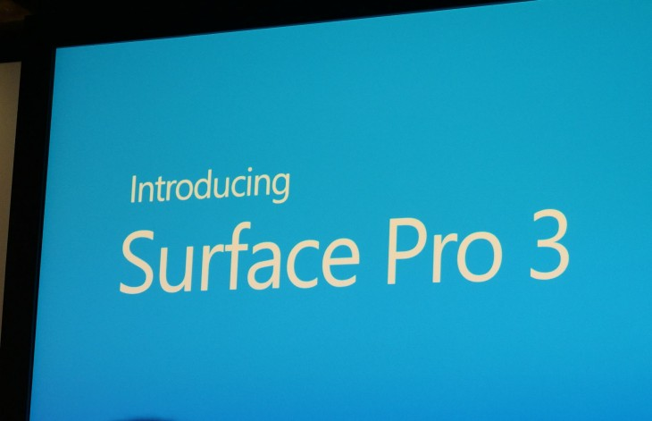 Microsoft announces Surface Pro 3 with 12″ screen, Core i3/i5/i7, kickstand, pen, shipping on June ...