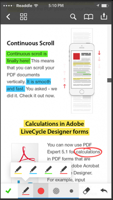 PDF Expert 5 - Artworks-iphone5