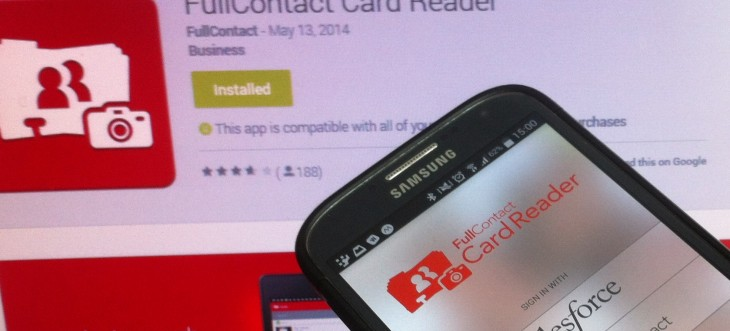 FullContact taps Zapier to let you scan your business cards into more than 250 third-party services