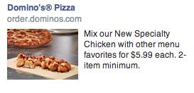 Pizza Hut FB Ad