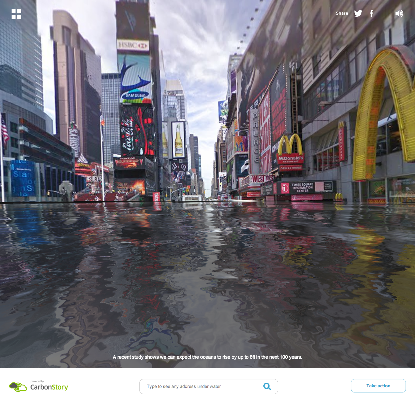 Google maps mod reveals underwater world after rising sea levels screen shot 2014 05 07 at 104801 gumiabroncs Images