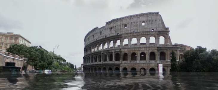 Google maps mod reveals underwater world after rising sea levels google street view flooded see what your neighborhood would look like if sea levels rise gumiabroncs Image collections