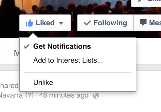 Facebook notifications for tnw
