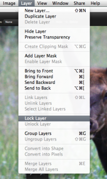 lock layers