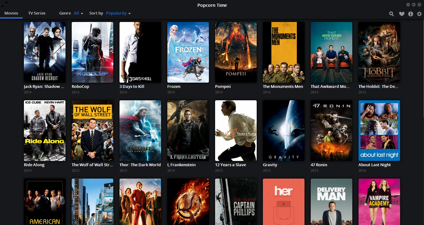tv shows 2014. popcorn time now streams tv shows and is available on android tv 2014 o