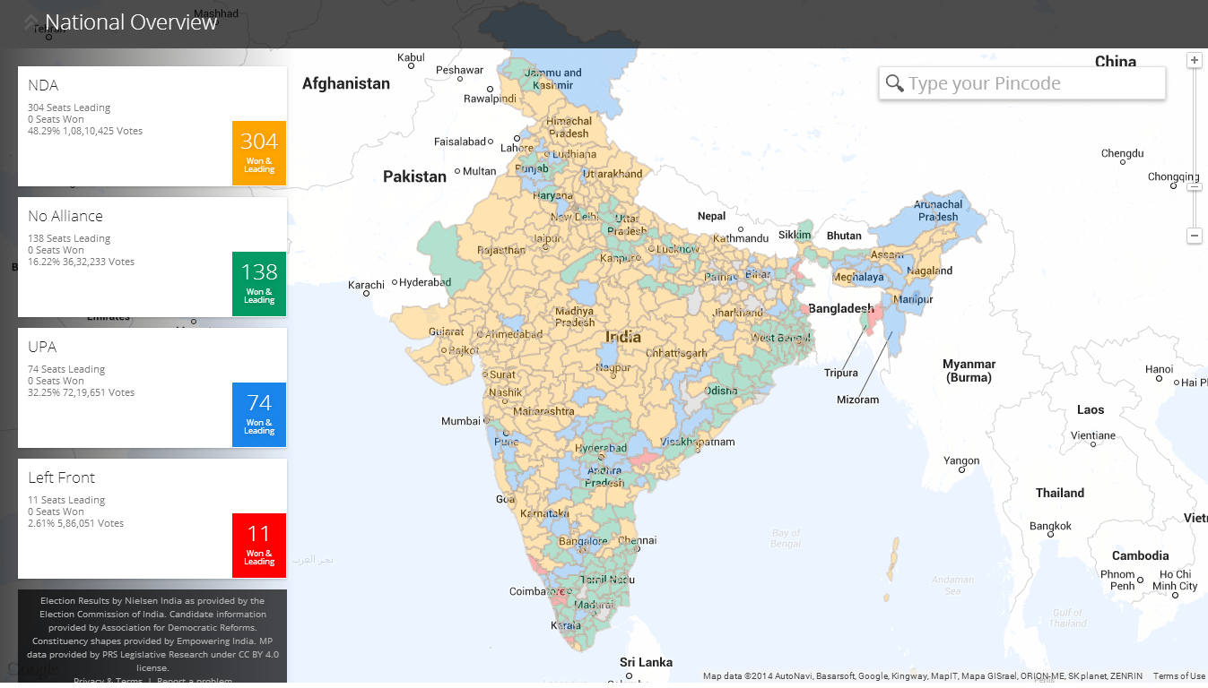 Google launches live india election map screenshot 2014 05 16 124052 gumiabroncs Images