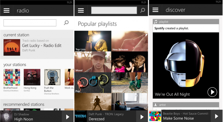 SpotifyWindowsPhone