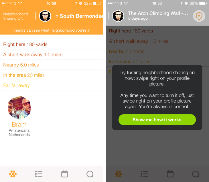 foursquare dating site
