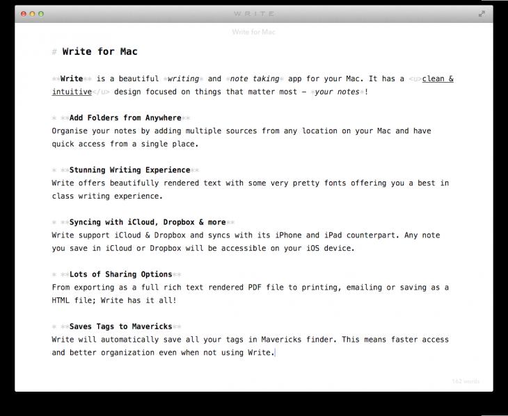 Write-Distraction-Free-Screen