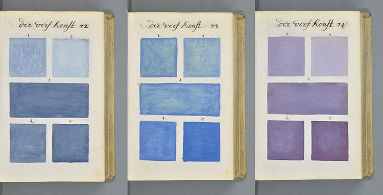 17th-century Hand-Painted Art Book Reminds Us of Pantone