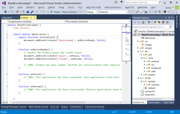 Microsoft Visual Studio 2014 - фото 4