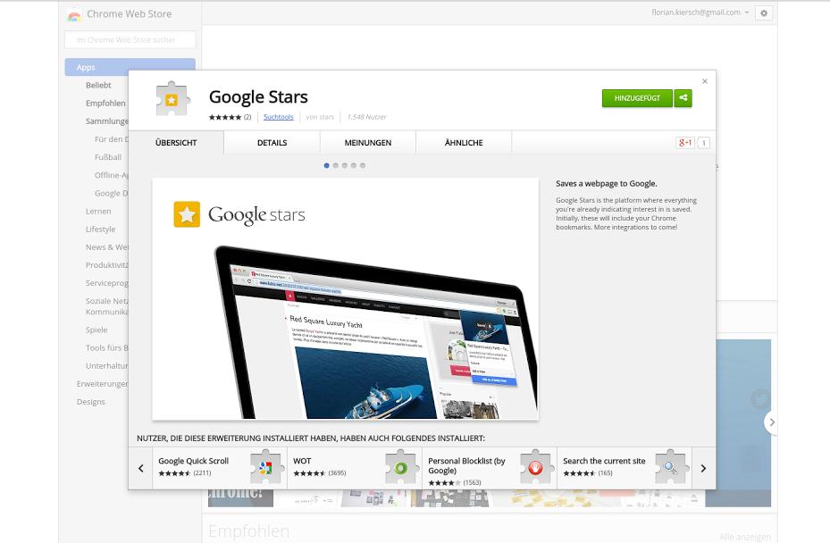 google-stars-ext