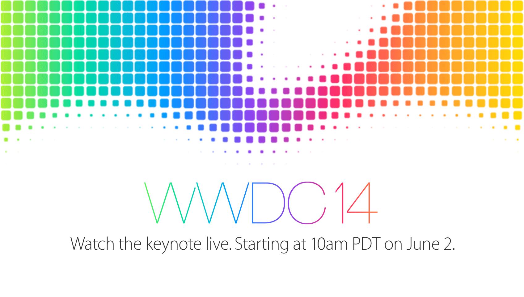 Apple to Stream WWDC 2014 Keynote on June 2