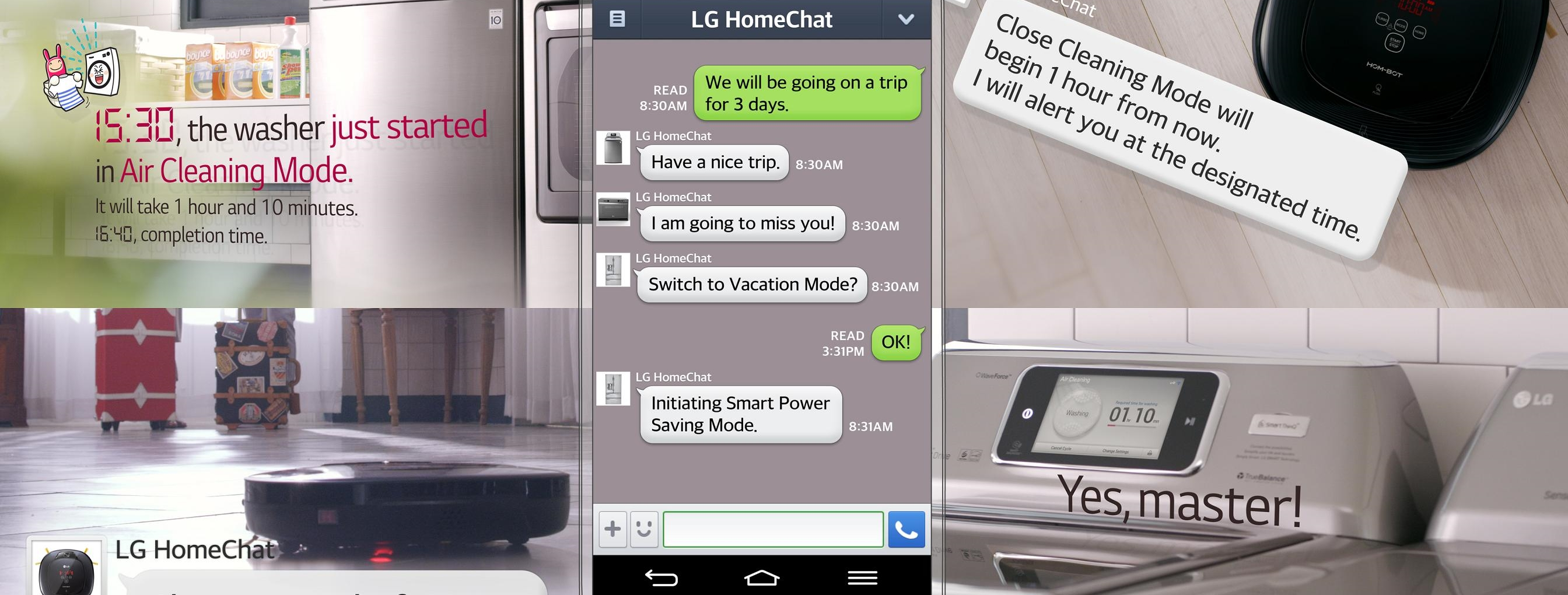 LG's New Fridge, Washing Machine and Oven Can Talk