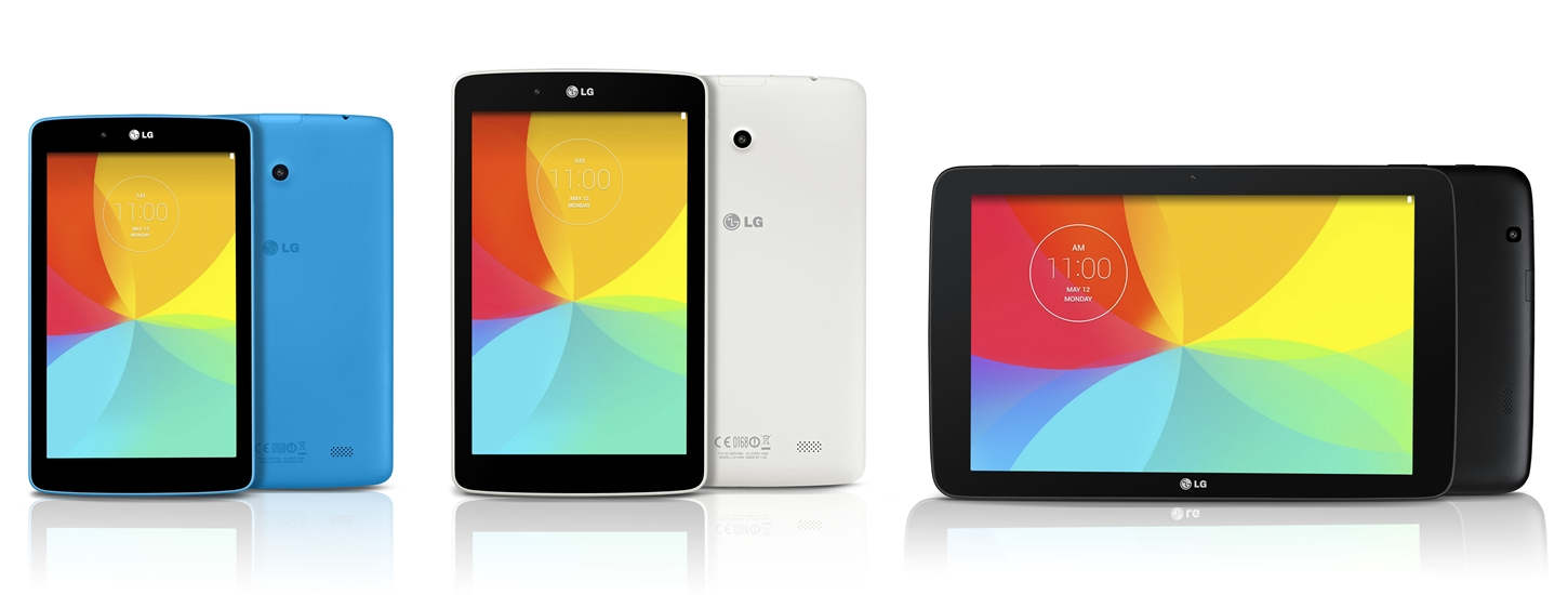 LG Announces Three New G Pad Tablets