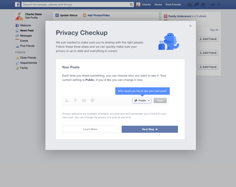Facebook Changes Default Post Privacy Setting to Friends