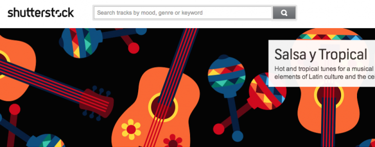 Shutterstock branches out into music with a simple license of $49 per track