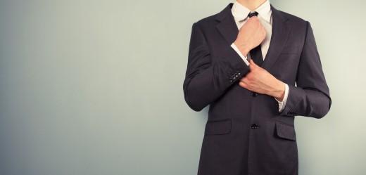 suit tie businessman
