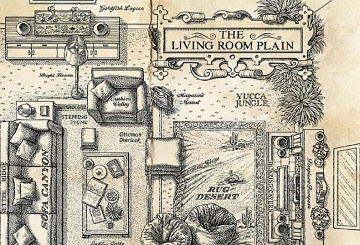 whiskas living room