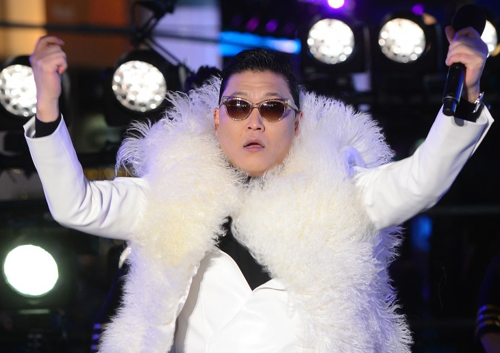 Messaging app Line offers free PSY stickers – but only if you watch his new single on YouTube first ...