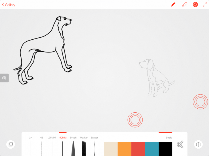 Adobe line dogs 2