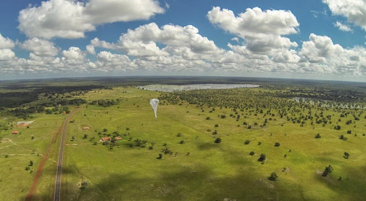 Google celebrates Project Loon's birthday with first LTE experiments and launch near the equator ...