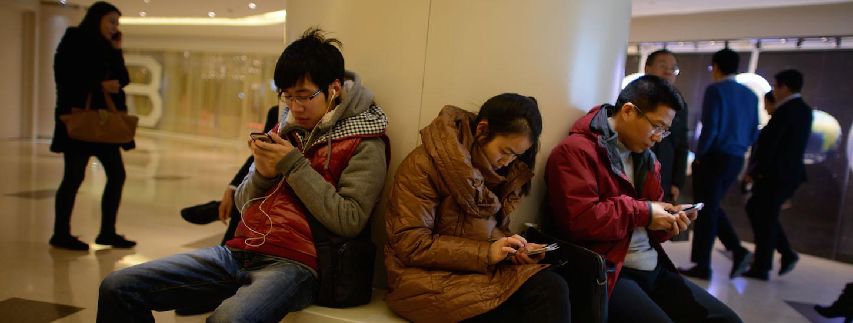 Bildresultat för asian mobile behavior