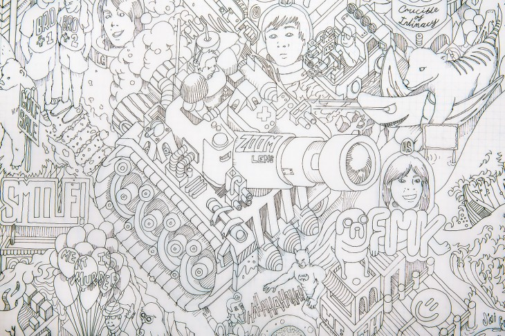 Internetopia: New crowdsourced drawing spotlights a teeming universe of human psychodrama