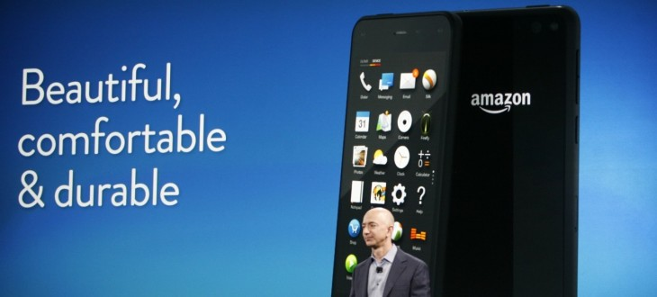 Amazon's Fire Phone arrives on July 25 for $199 (32GB) and $299 (64GB) from AT&T