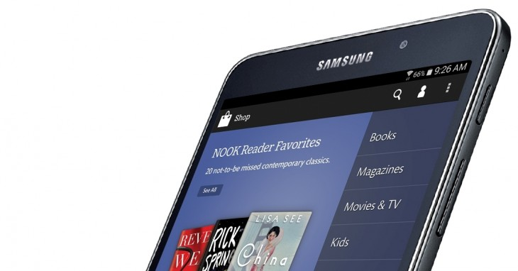 Samsung and Barnes & Noble partner to launch a Galaxy Tab 4 Nook tablet