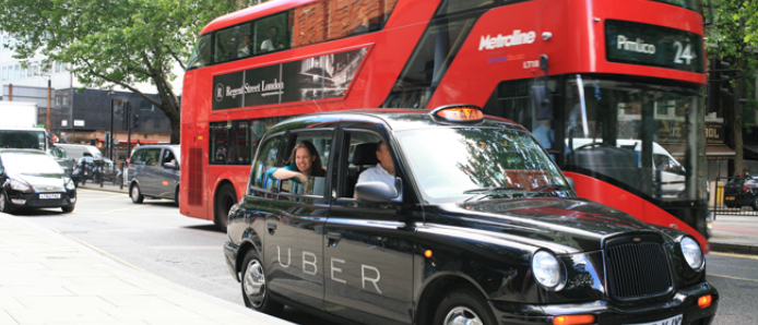 As London cabbies protest, Uber launches UberTaxi platform for London cabbies