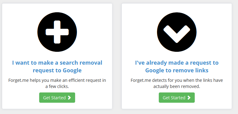 Forget.me Simplifies Your 'Right to be Forgotten' on Google