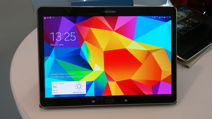 "Hands-on with Samsung's 8.4"" and 10.5"" Galaxy Tab S"